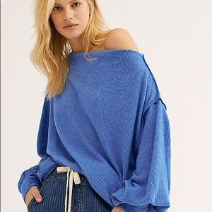Free people main squeeze hacci top